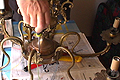 Cambiar los cables de una lámpara antigüa