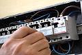 Cambiar el diferencial de un cuadro de maniobras eléctrico
