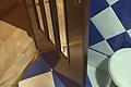 Quitar un roce fuerte o el atranque de una puerta en el suelo