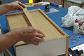 Reforzar el fondo o suelo de un cajón que se ha hundido