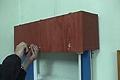reparar una persiana de pvc partida en dos trozos