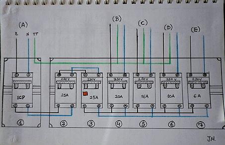 Como instalar cuadro electrico vivienda
