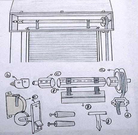 Piezas persianas materiales de construcci n para la - Cuerda de persiana ...