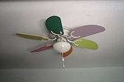 Montar y colgar un ventilador de techo