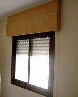 Poner persianas de cinta en ventanas que antes no tenían