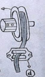 Piezas de una persiana de cinta