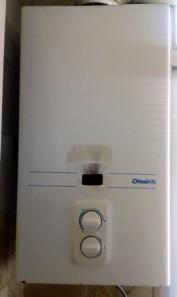 Agua caliente de la ducha sale con poca presión