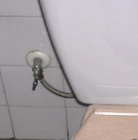No puedo quitar la llave de paso de la cisterna