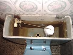 A mi cisterna no le entra agua
