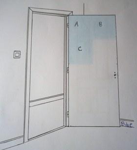 Cómo pintar una puerta lisa