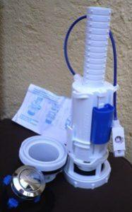 descargador doble pulsador idrospania de una cisterna wc